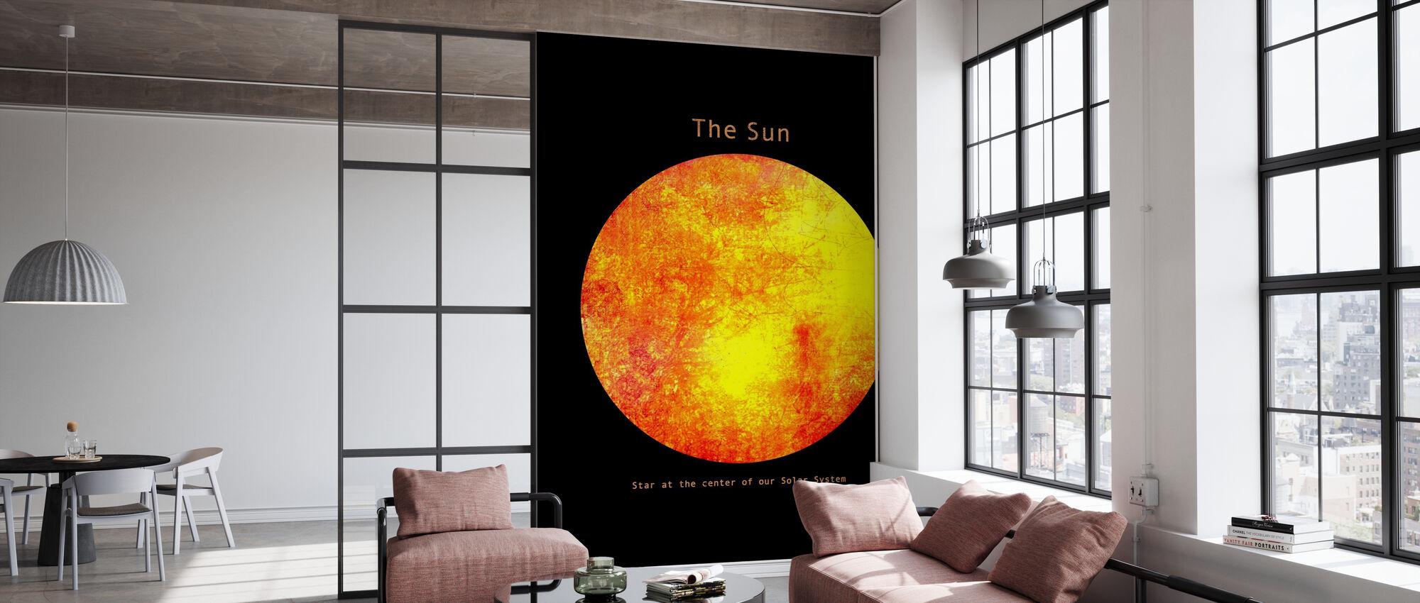 Solar System - Sun - Wallpaper - Office