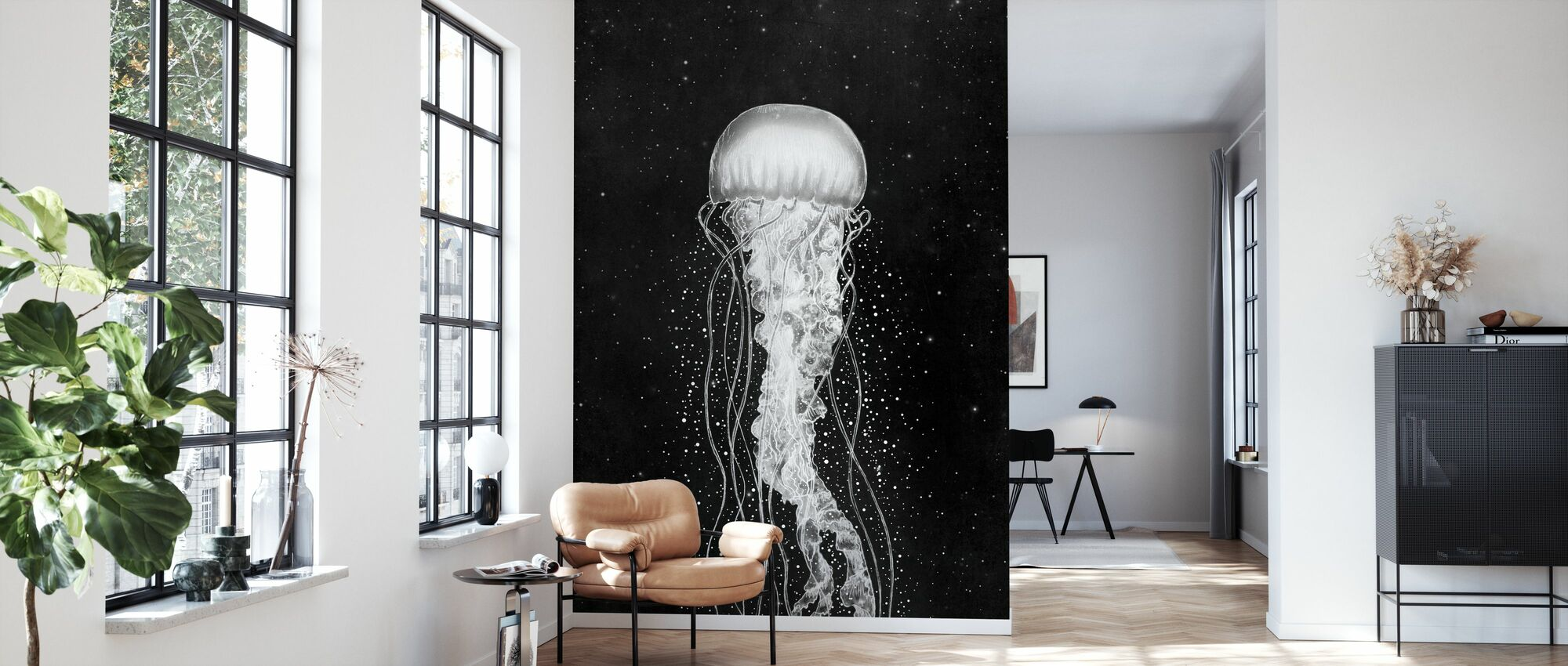 Space Jelly - Wallpaper - Living Room