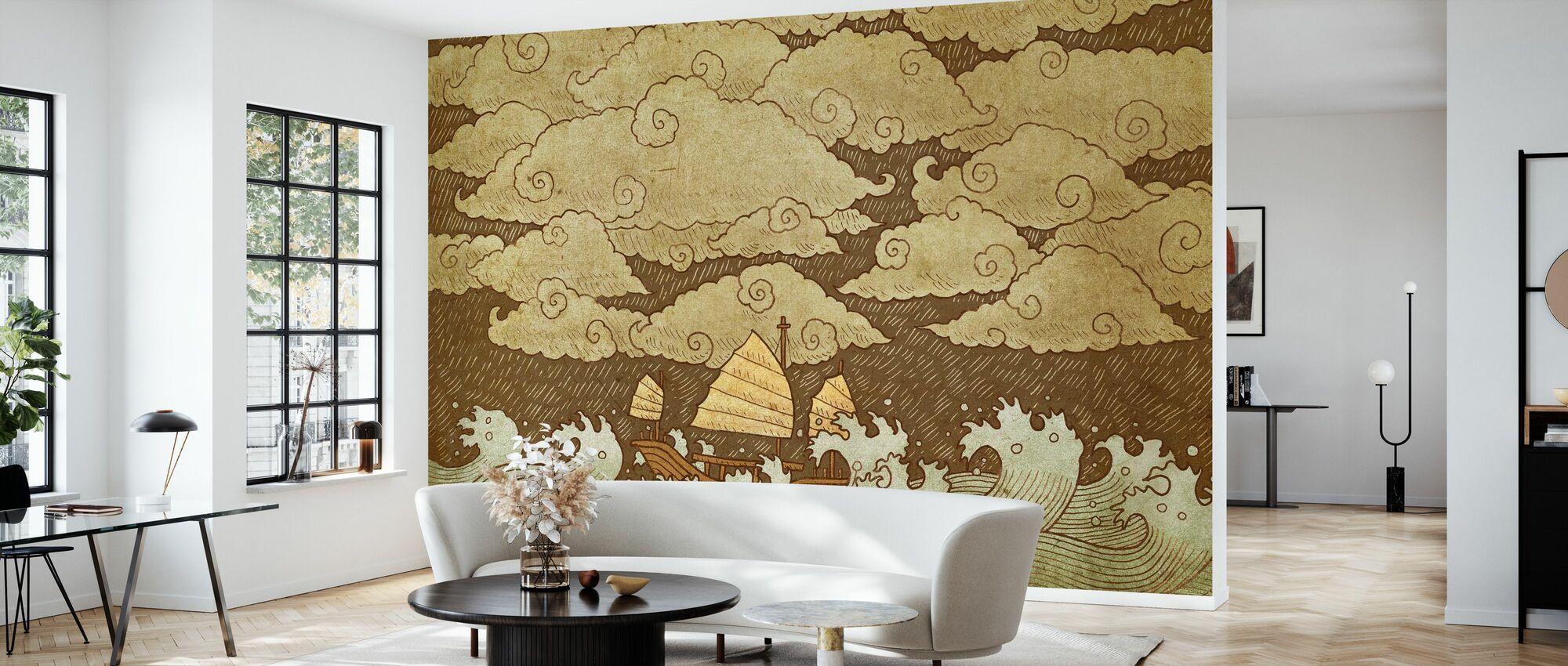 Tempest - Wallpaper - Living Room