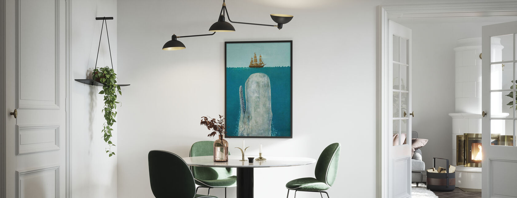 Whale - Poster - Kitchen