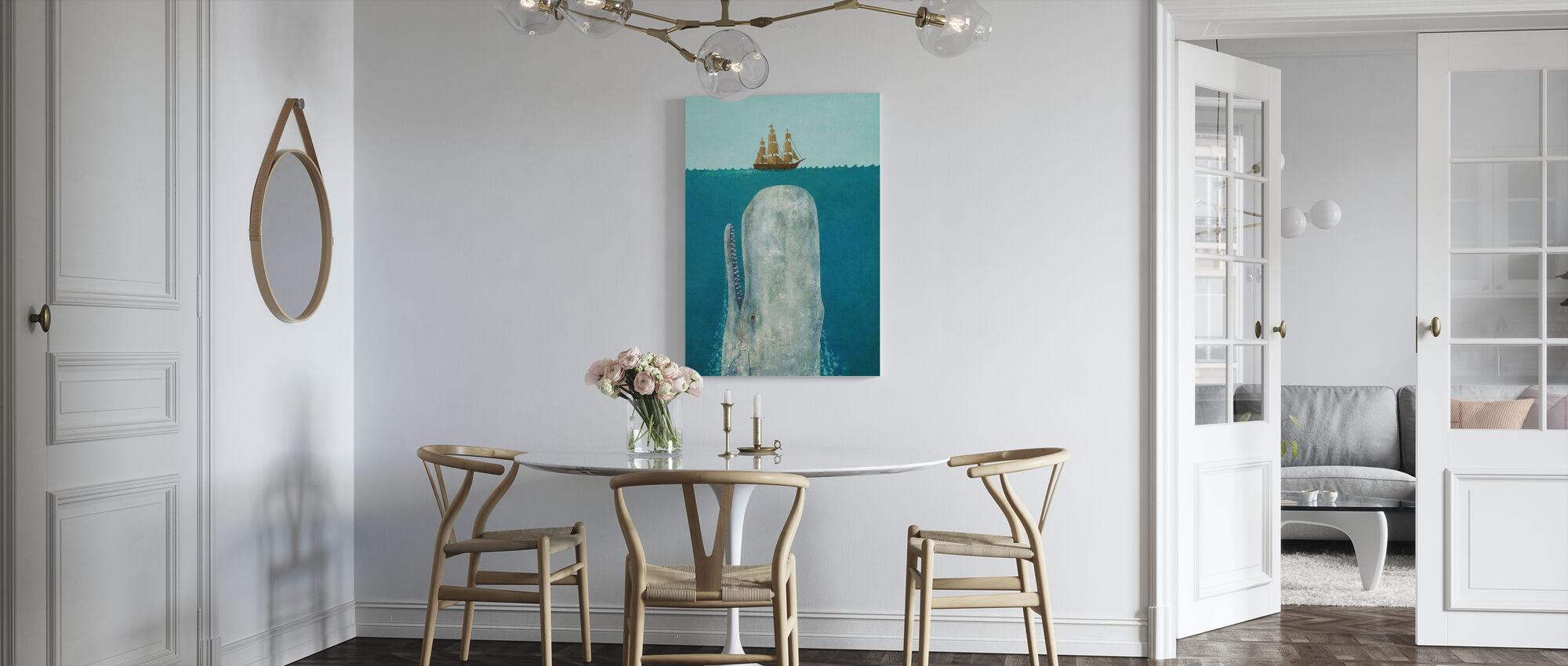 Hvalen - Billede på lærred - Køkken