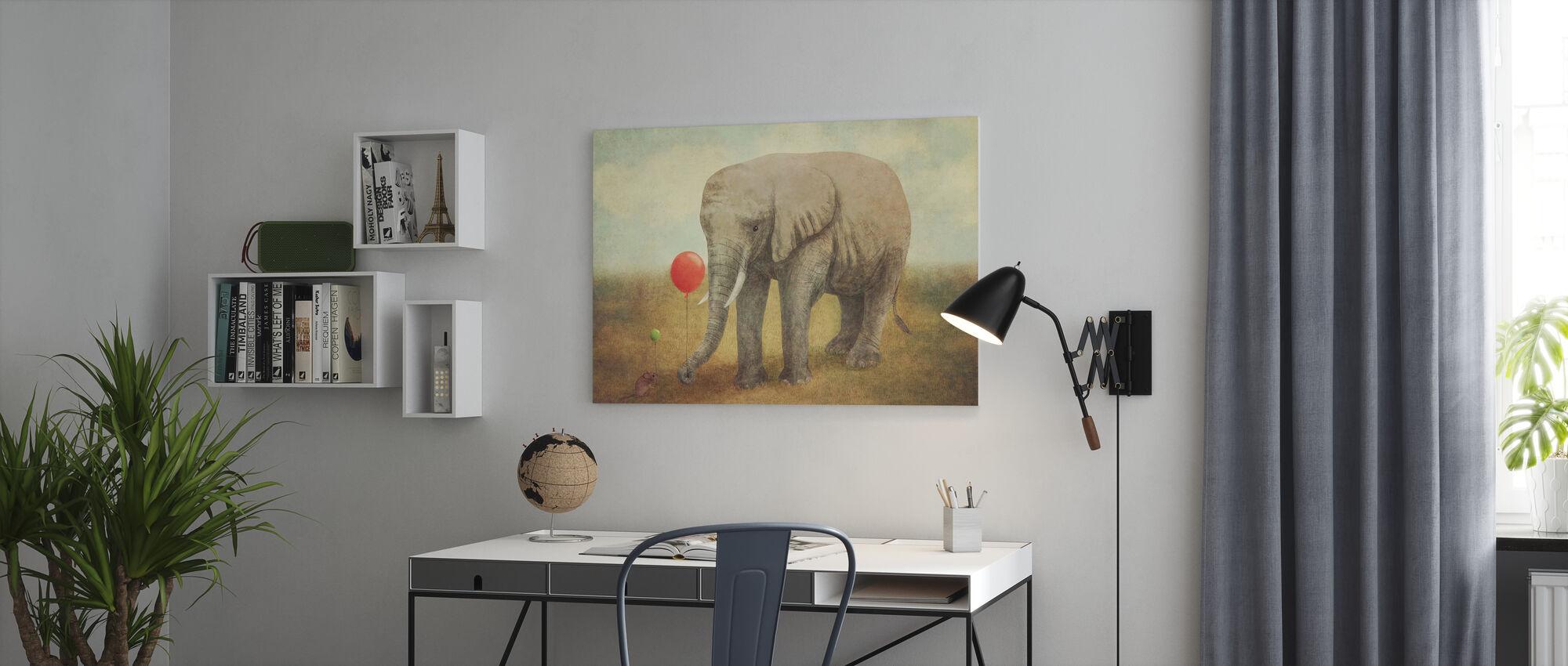 Truce - Canvas print - Office
