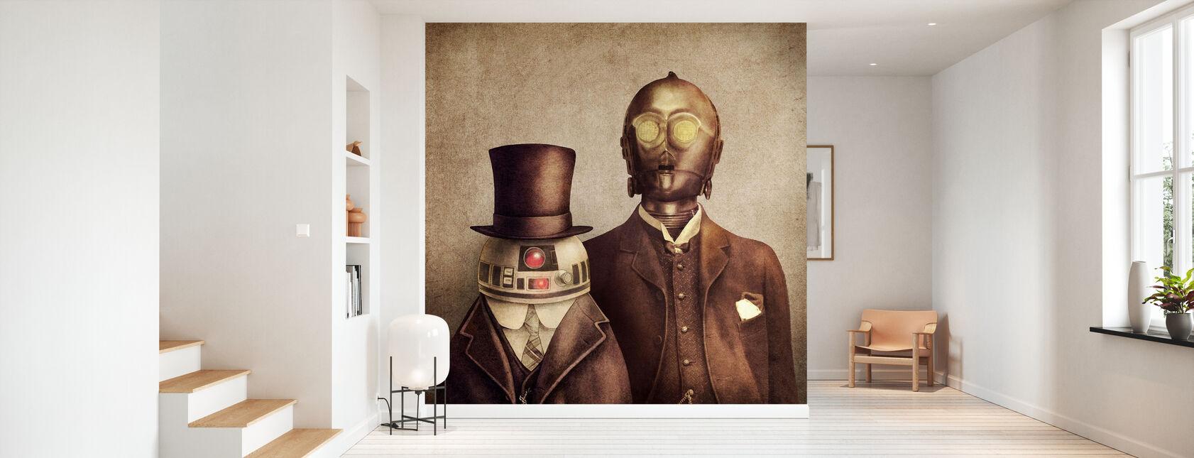 Victorian Robots - Wallpaper - Hallway