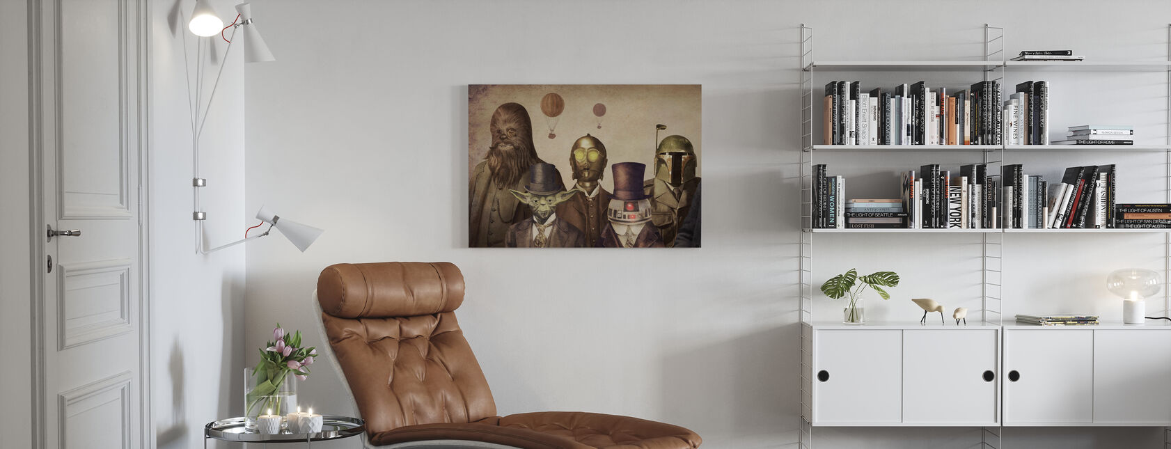 Victorian Wars - Canvas print - Living Room
