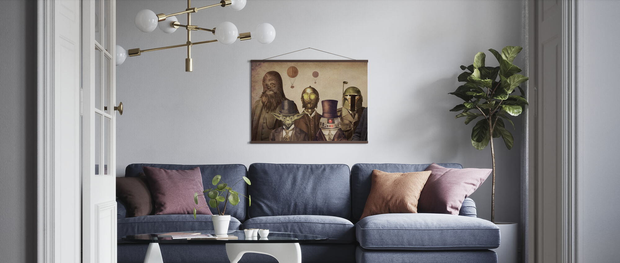 Victorian Wars - Poster - Living Room