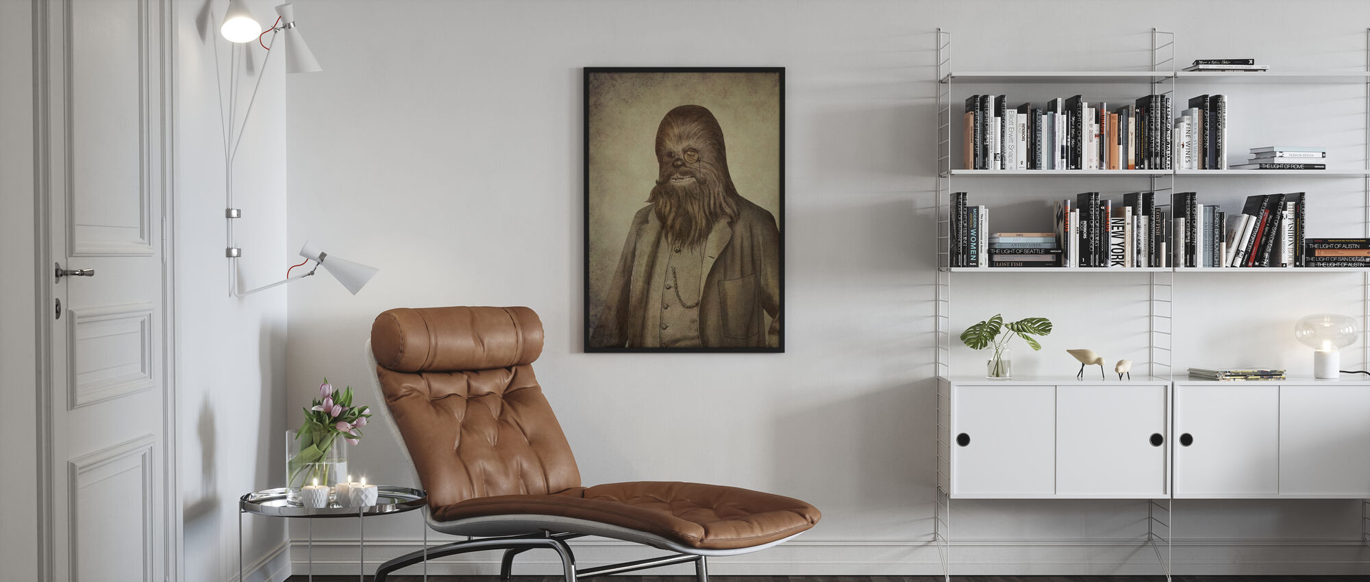 Victorian Wars Chancellor Chewman - Poster - Living Room