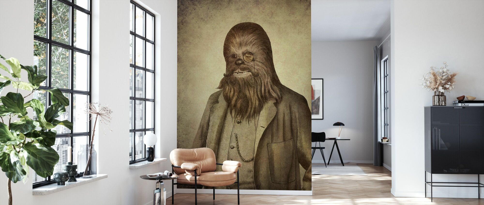 Victorian Wars Chancellor Chewman - Wallpaper - Living Room
