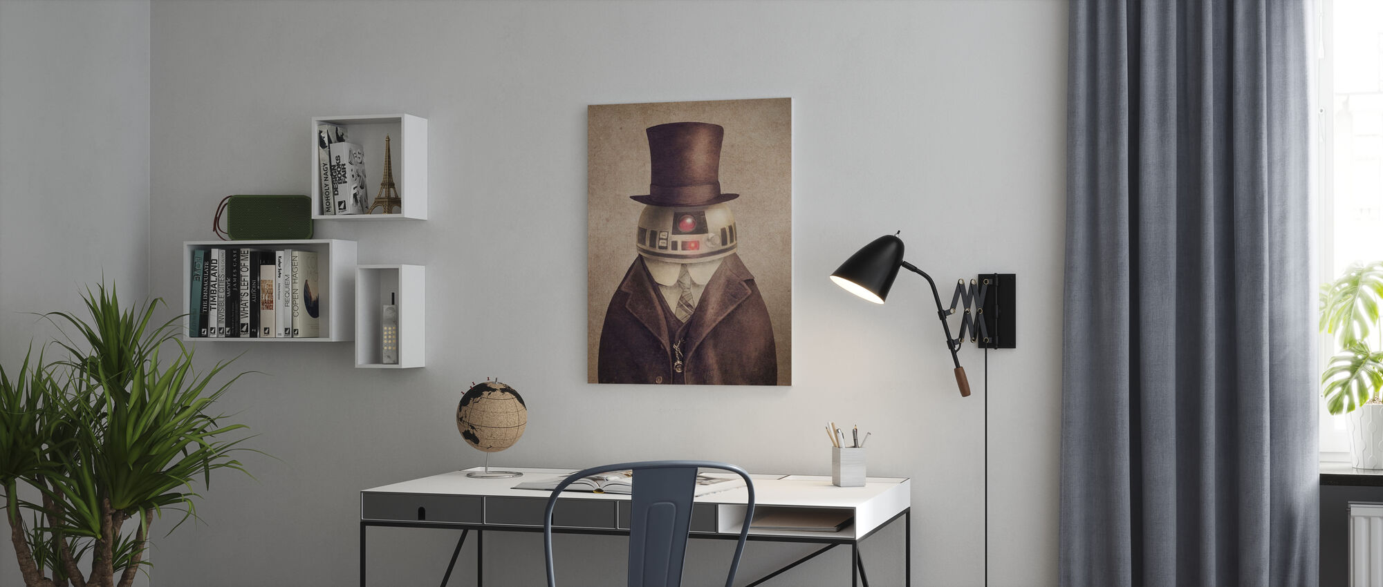 Victorian Wars Duke R2 - Canvas print - Office