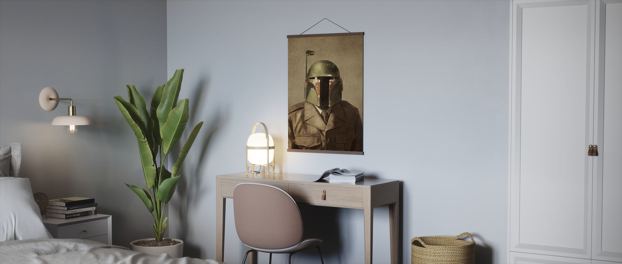 Victorian Wars General Fett - Poster - Office