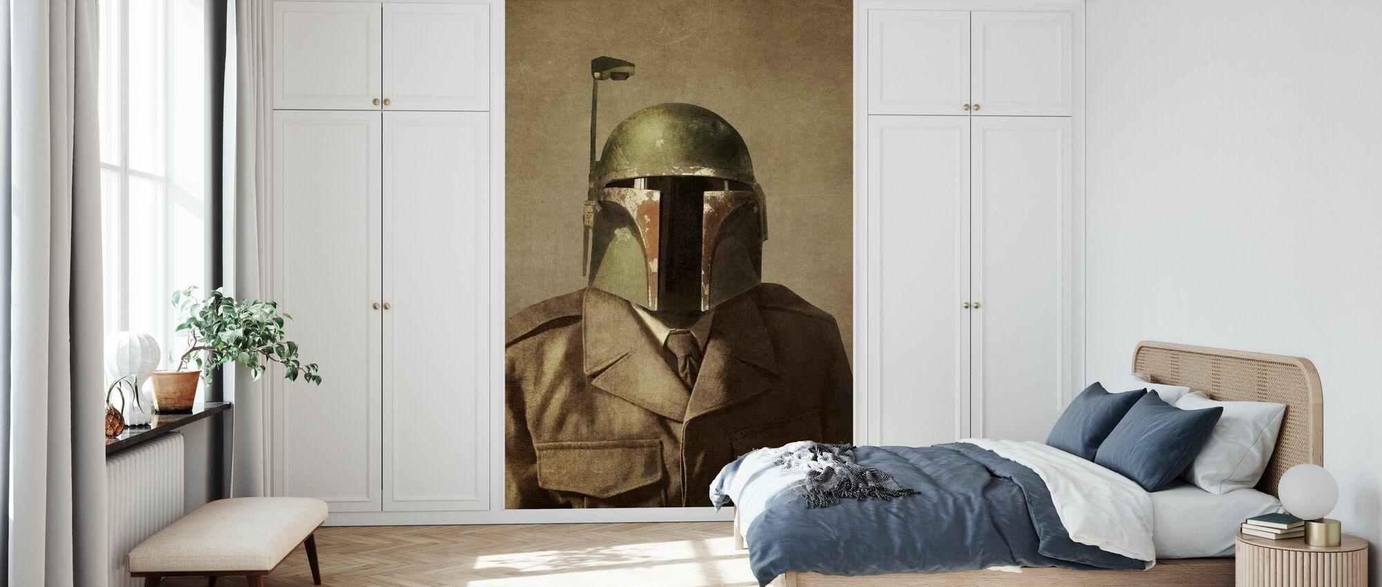 Le général Fett des guerres victoriennes - Papier peint - Chambre