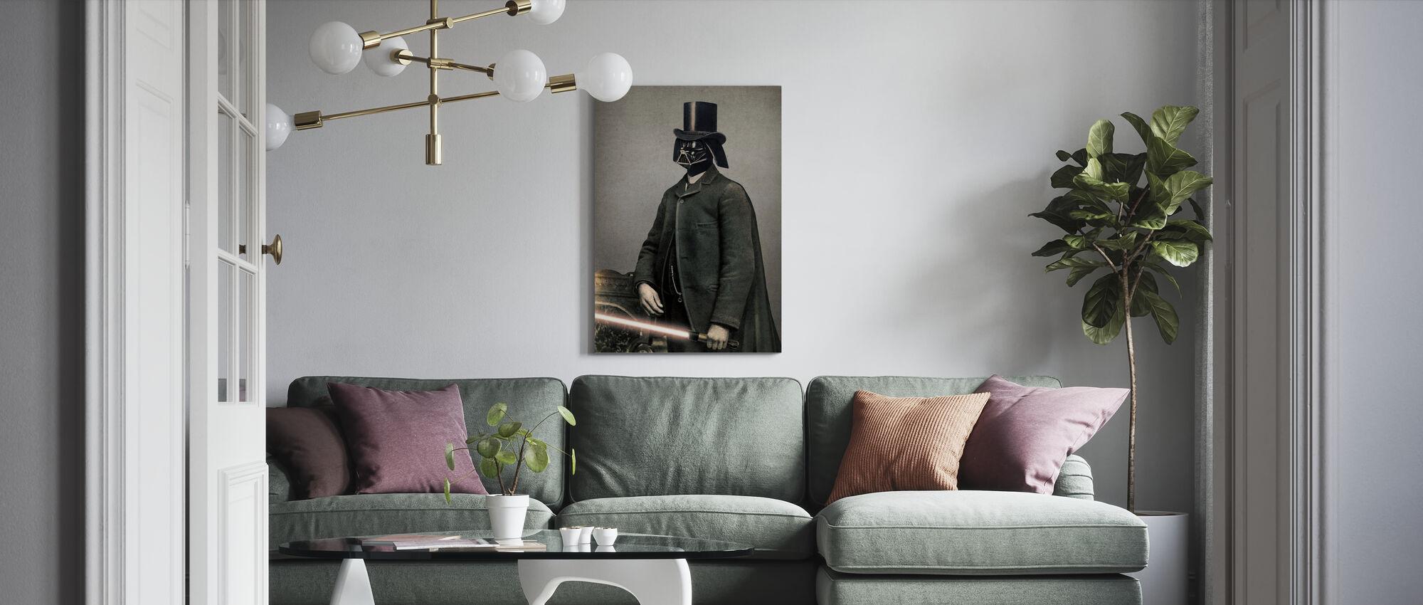 Viktorianische Kriege Lord Vadersworth - Leinwandbild - Wohnzimmer
