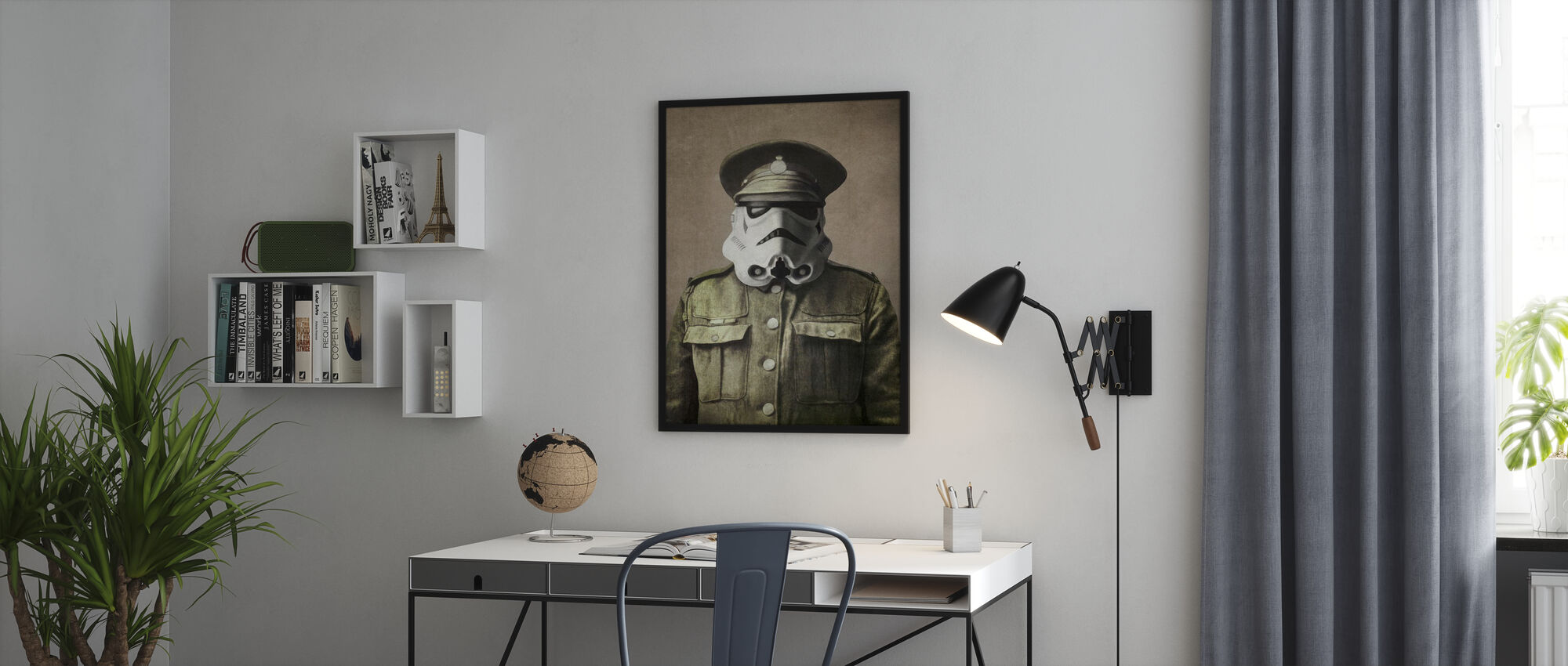 Victorian Wars Sgt. Stormley - Poster - Office
