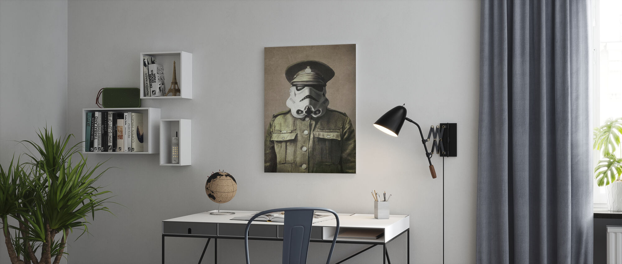 Victorian Wars Sgt. Stormley - Canvas print - Office