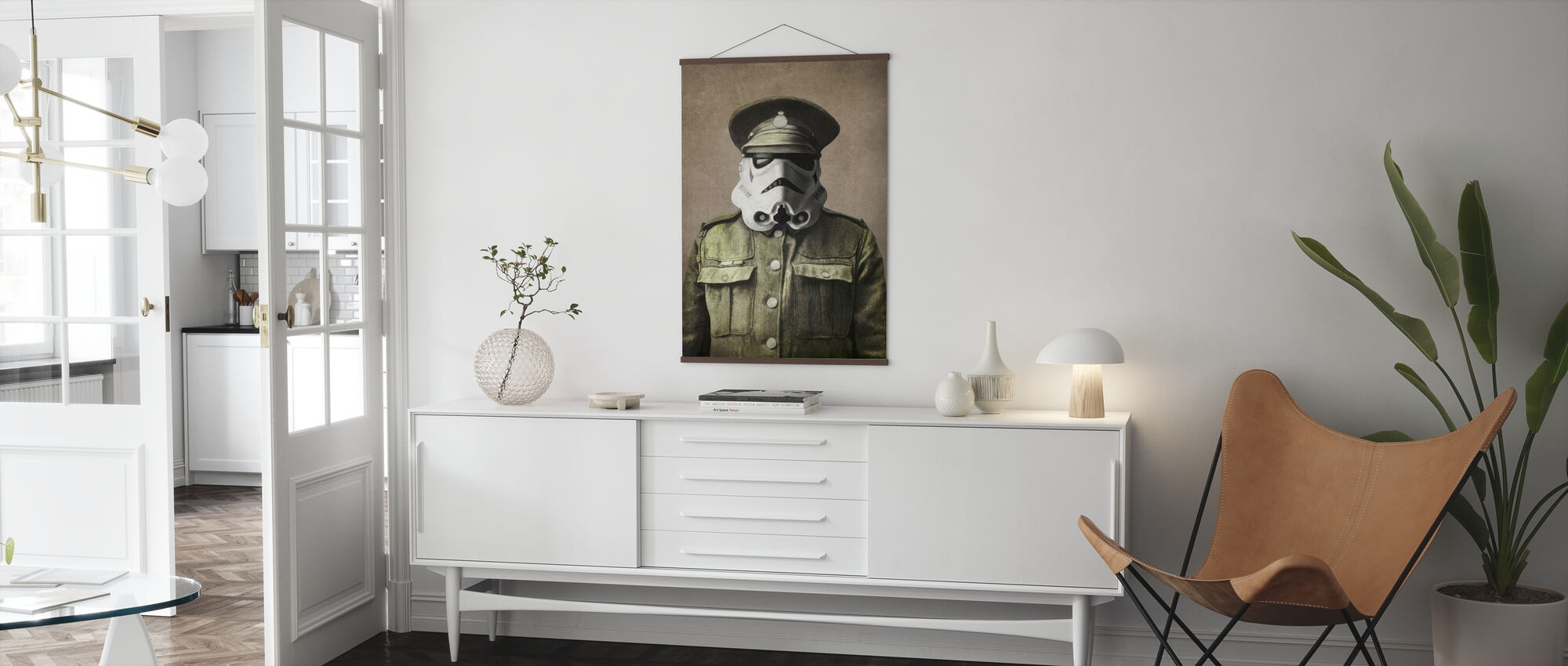 Victorian sodat kersantti Stormley - Juliste - Olohuone