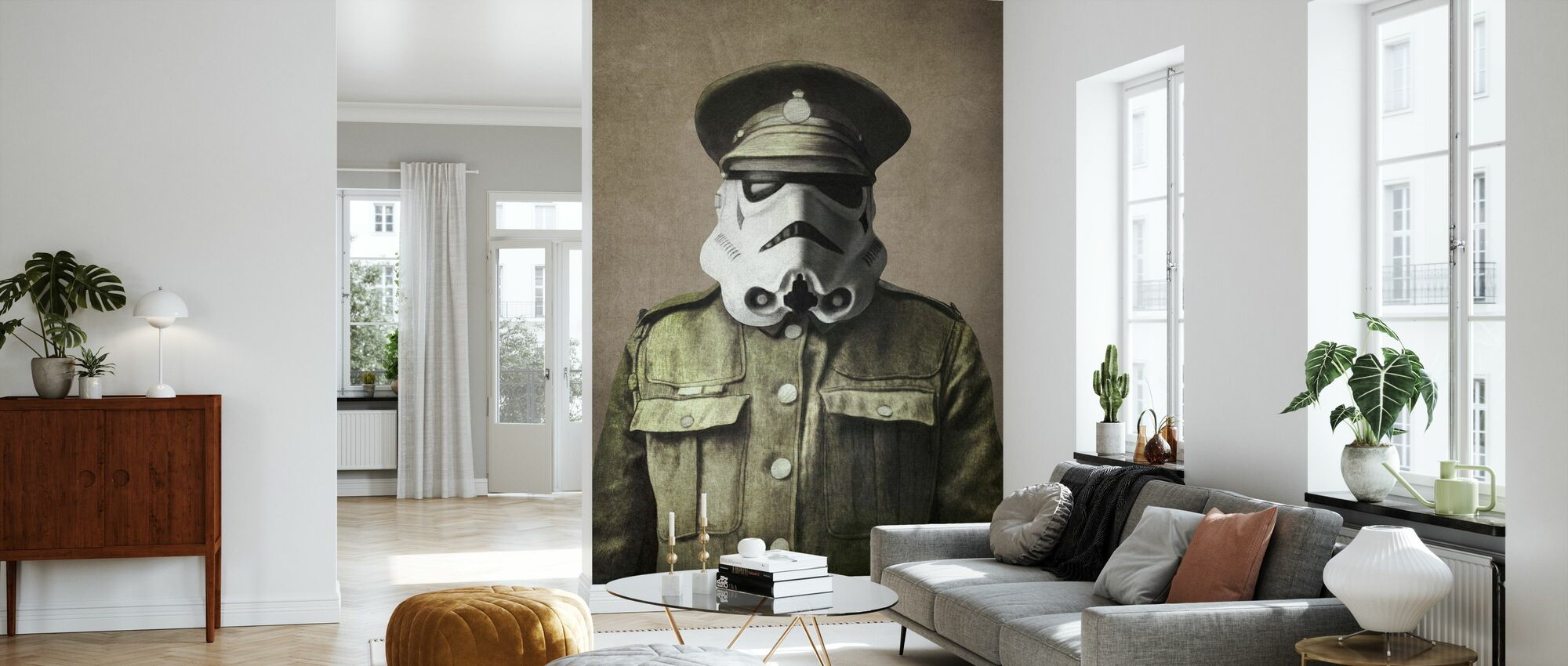Victorian Wars Sgt. Stormley - Wallpaper - Living Room