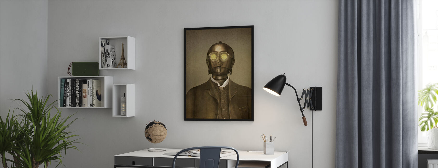 Victoriaanse oorlogen Baron von 3PO - Poster - Kantoor