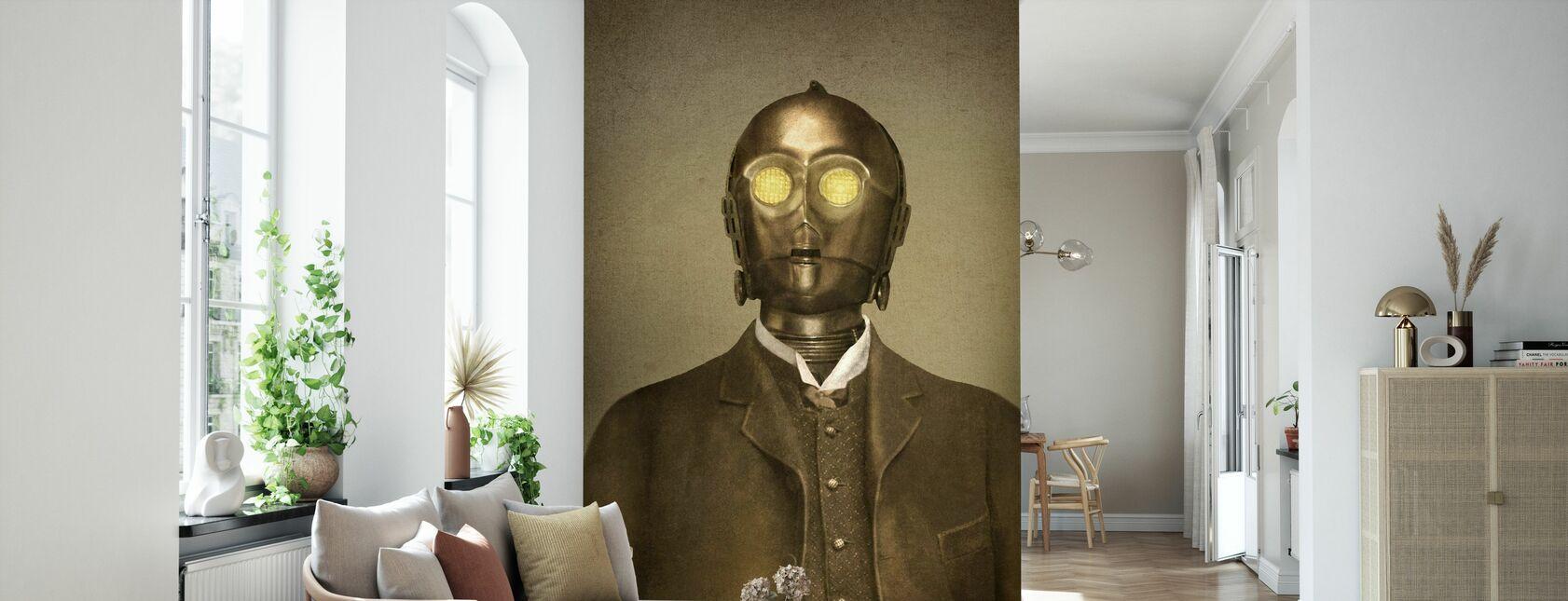 Victorian sodat paroni Von 3PO - Tapetti - Olohuone