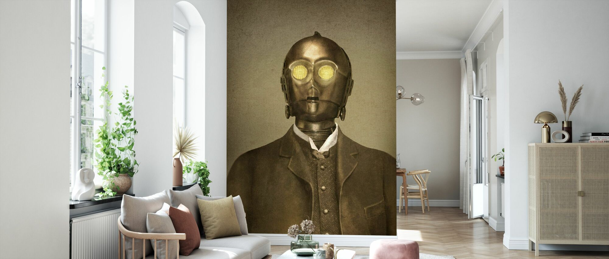 Victorian Wars Baron Von 3PO - Wallpaper - Living Room
