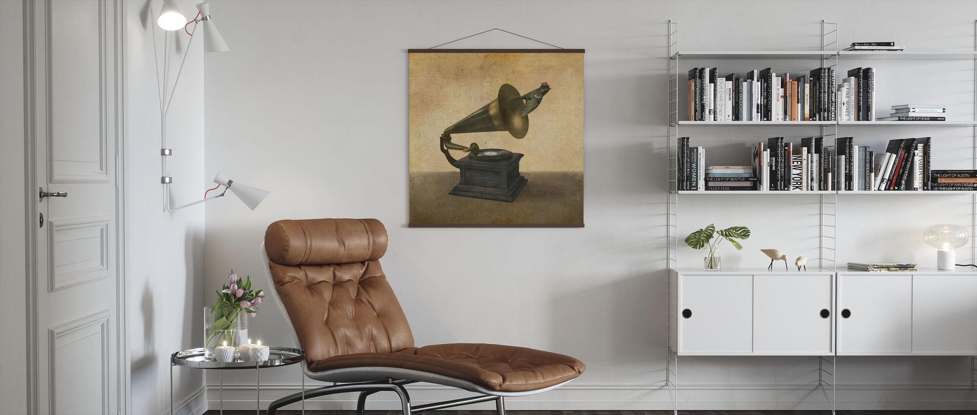 Vintage Songbird - Poster - Living Room