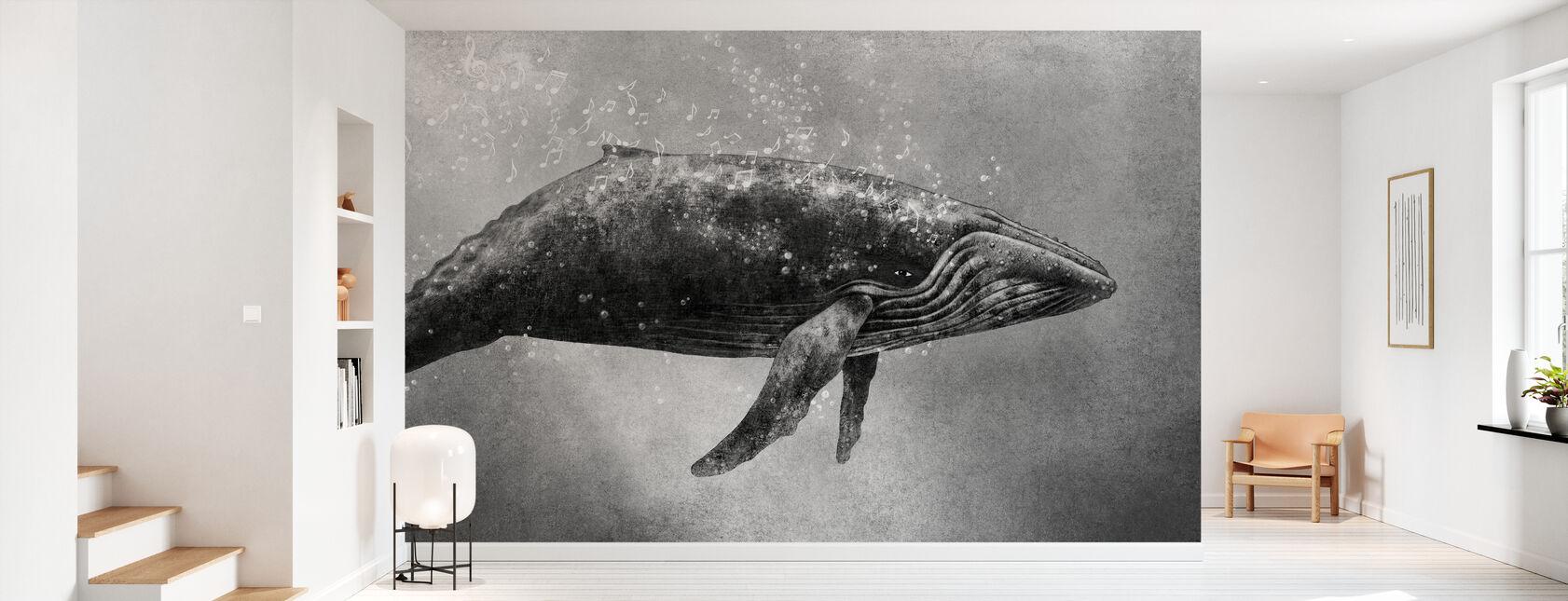 Whale Sång - Tapet - Hall