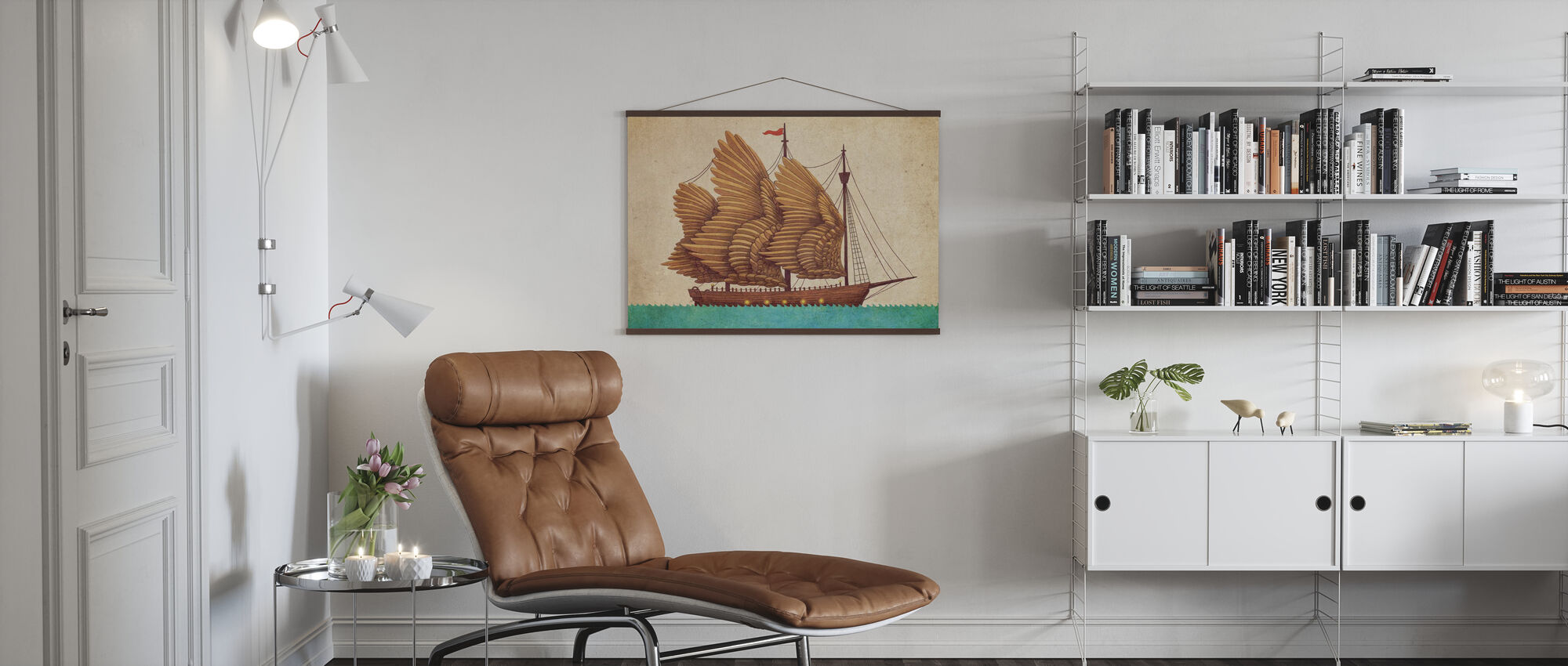 Winged Odyssey - Poster - Living Room