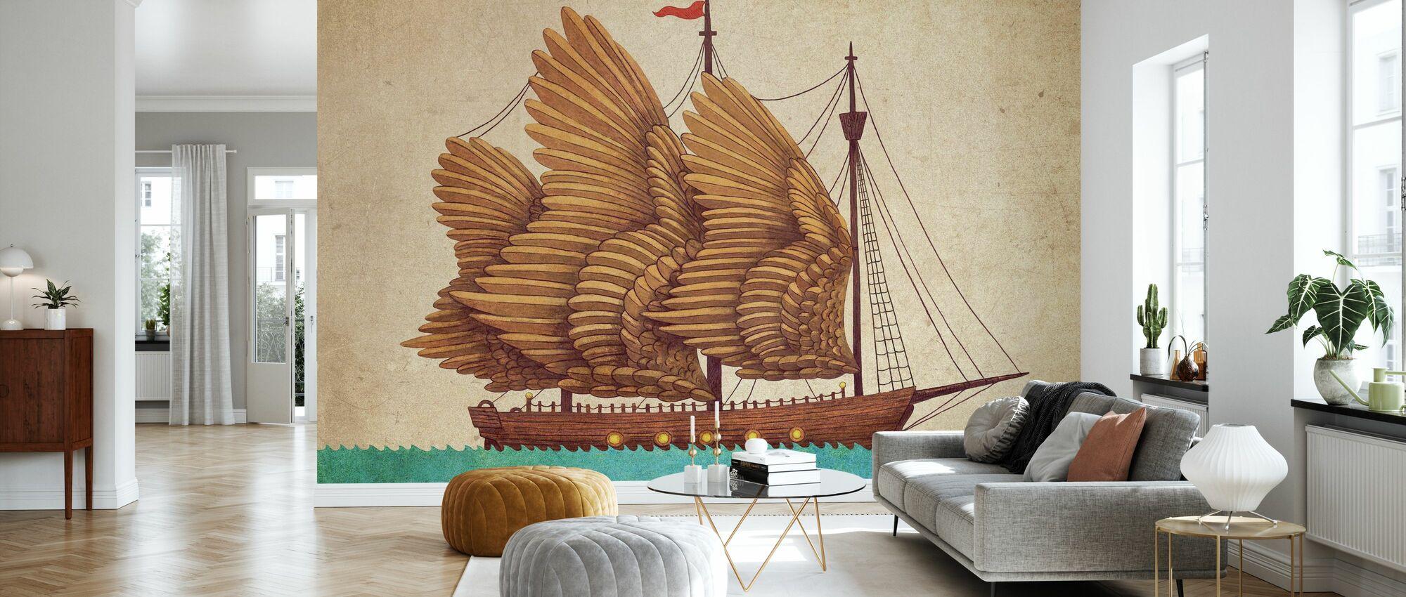 Winged Odyssey - Wallpaper - Living Room