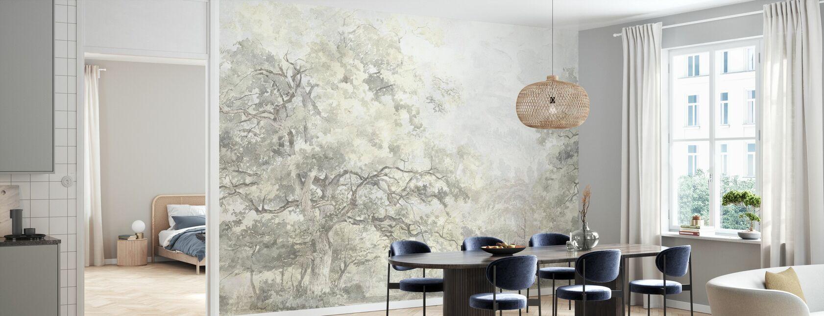 Beauty Everywhere - Yellow - Wallpaper - Kitchen
