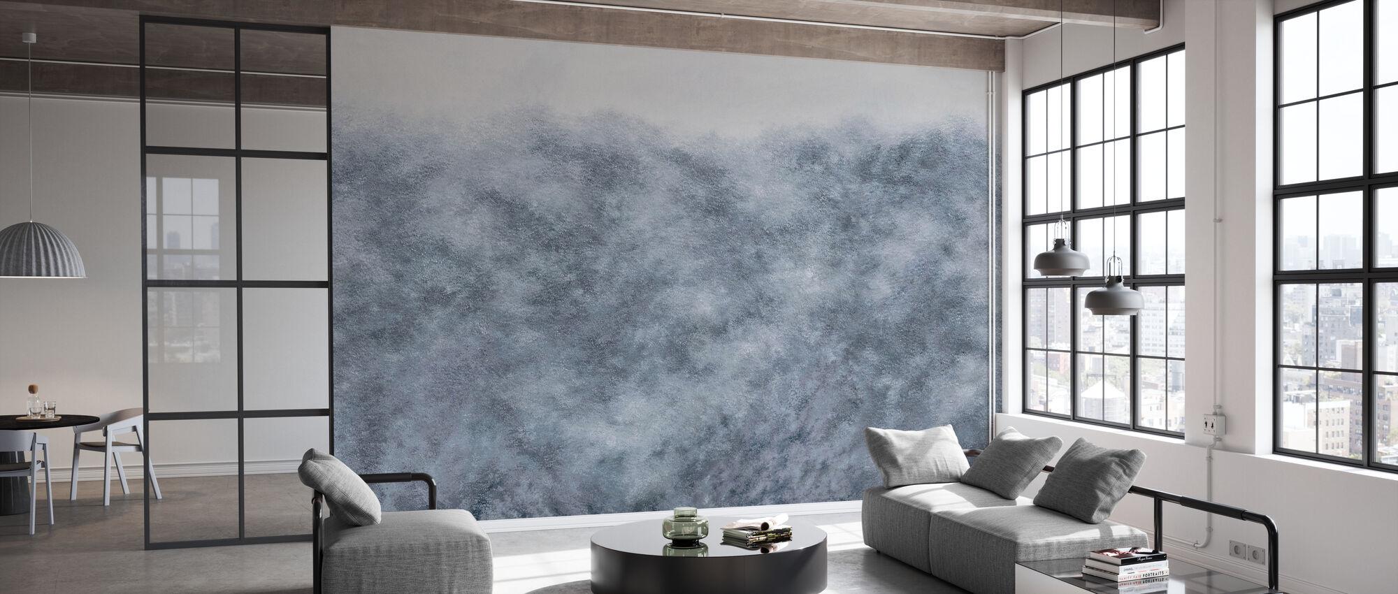 Flutter - Blue - Wallpaper - Office