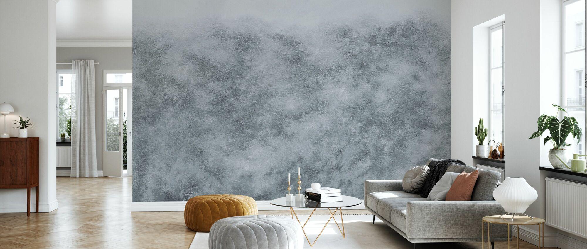 Flutter - Grey - Wallpaper - Living Room