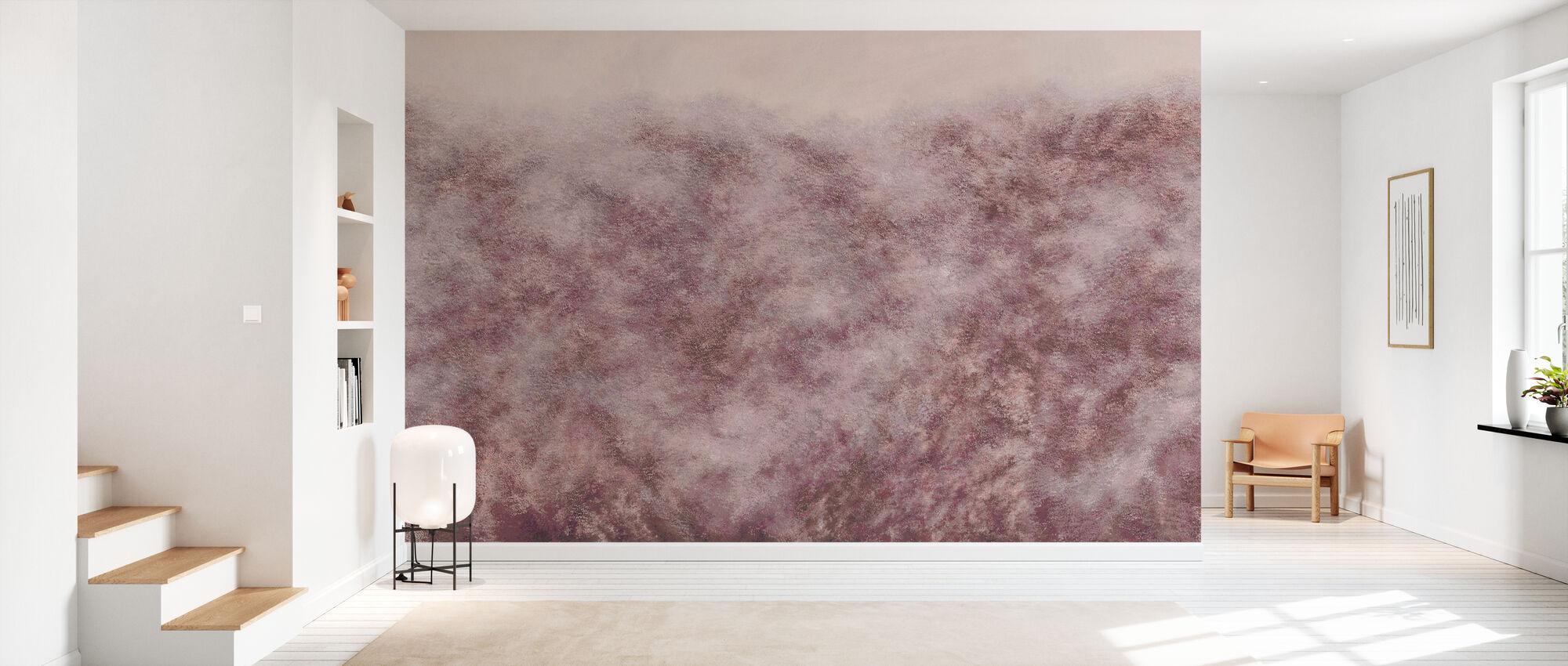 Flutter - Pink - Wallpaper - Hallway