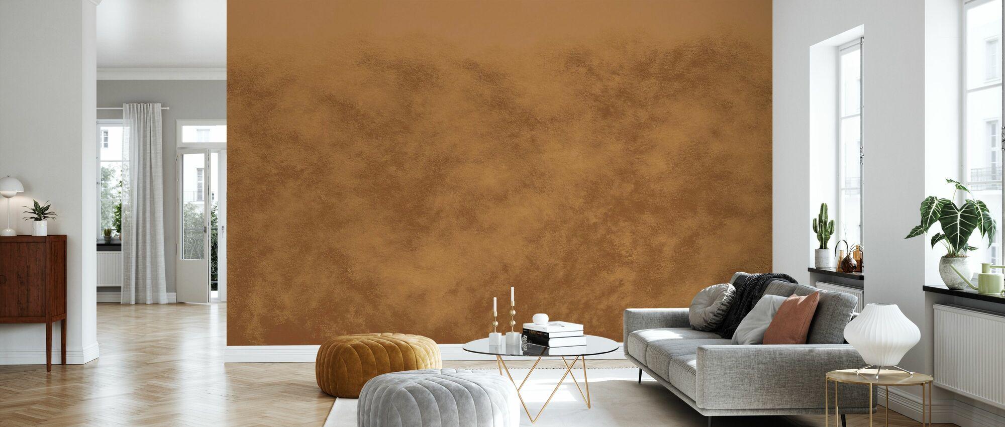 Flutter - Tumeric - Wallpaper - Living Room