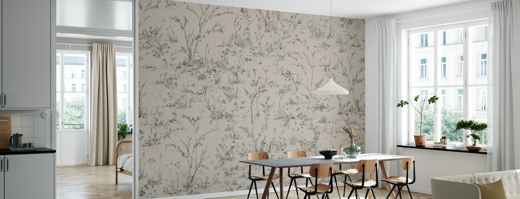 Wonder - Beige - Wallpaper - Kitchen