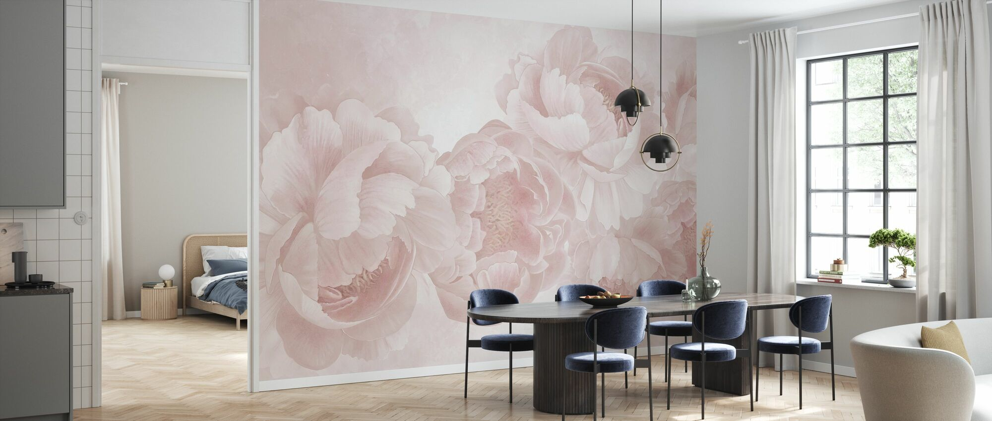 Peony - Wallpaper - Kitchen