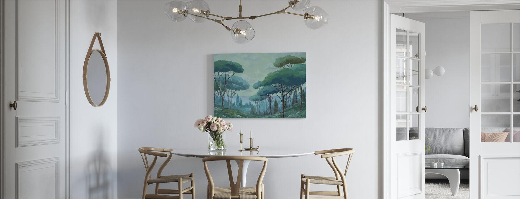 Liśna przyroda - Obraz na płótnie - Kuchnia