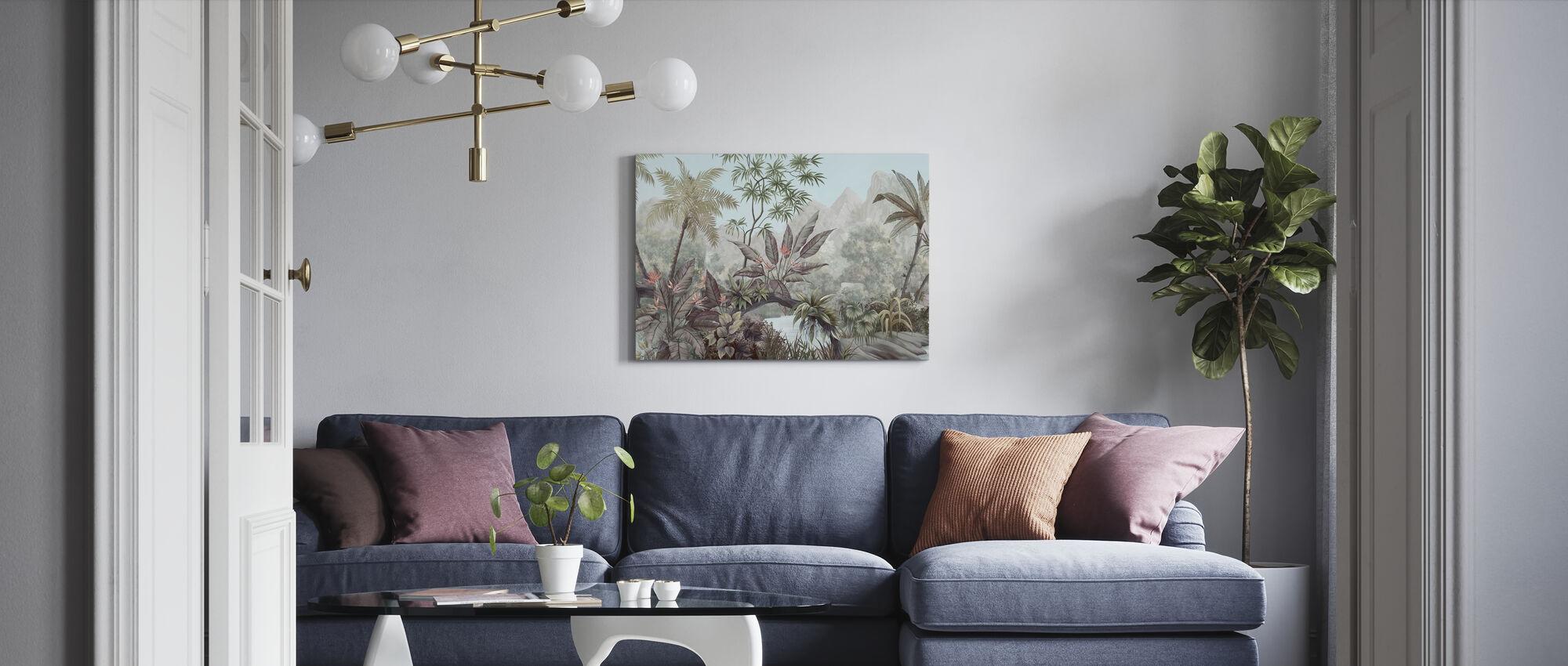 Tangled Jungle - Canvas print - Living Room