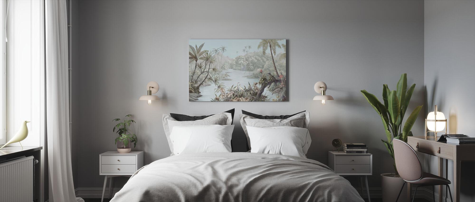 Tangled Jungle II - Canvas print - Bedroom