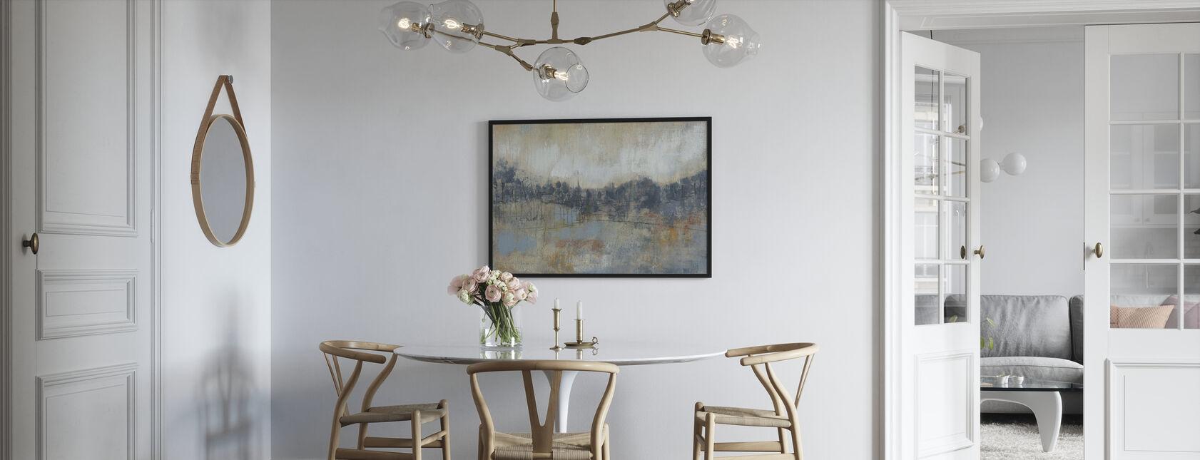 Kul grå horisont - Plakat - Kjøkken