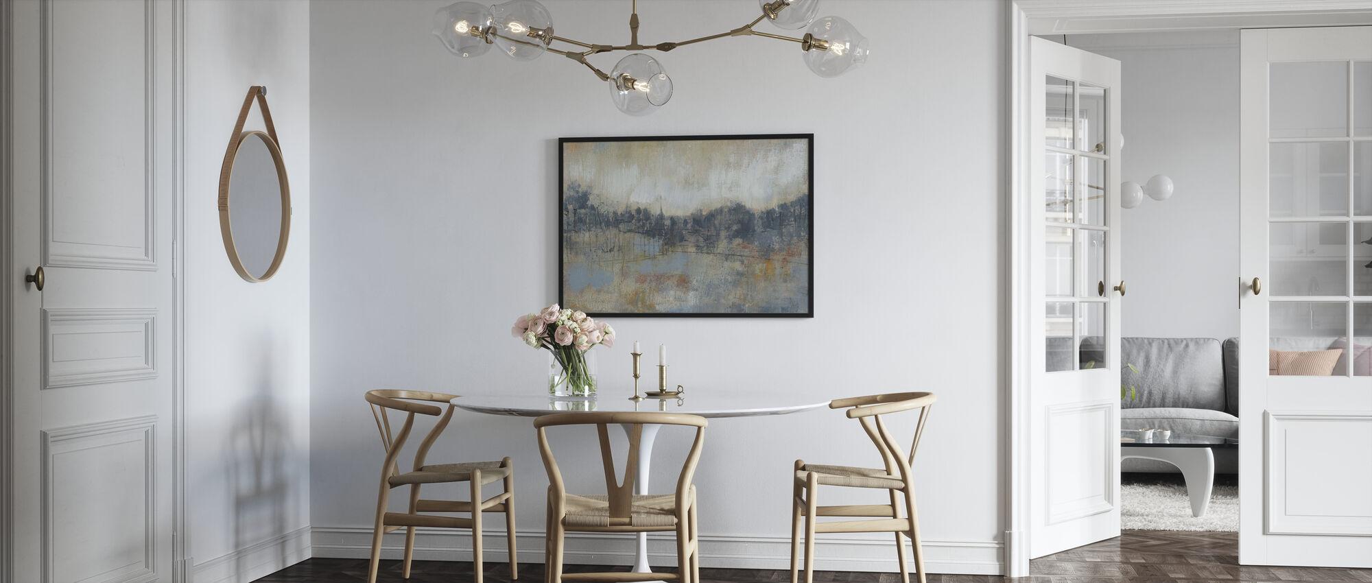 Cool Grey Horizon - Poster - Kitchen