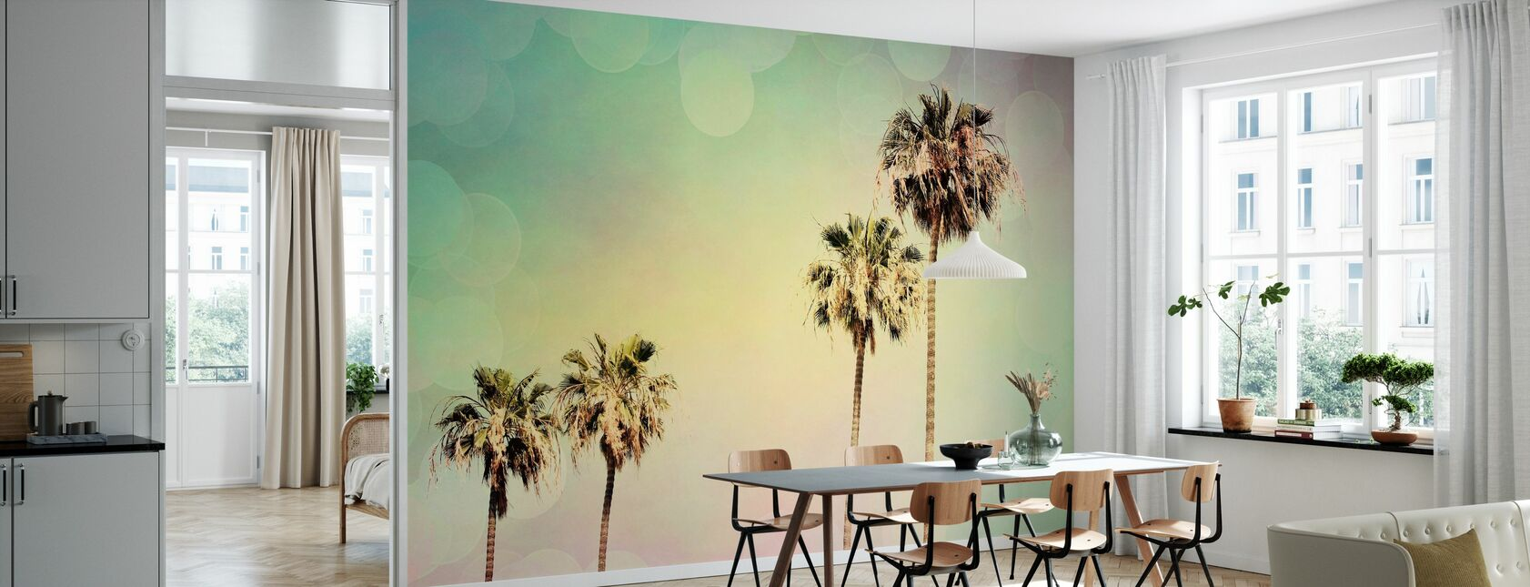 Palm Trees II - Wallpaper - Kitchen