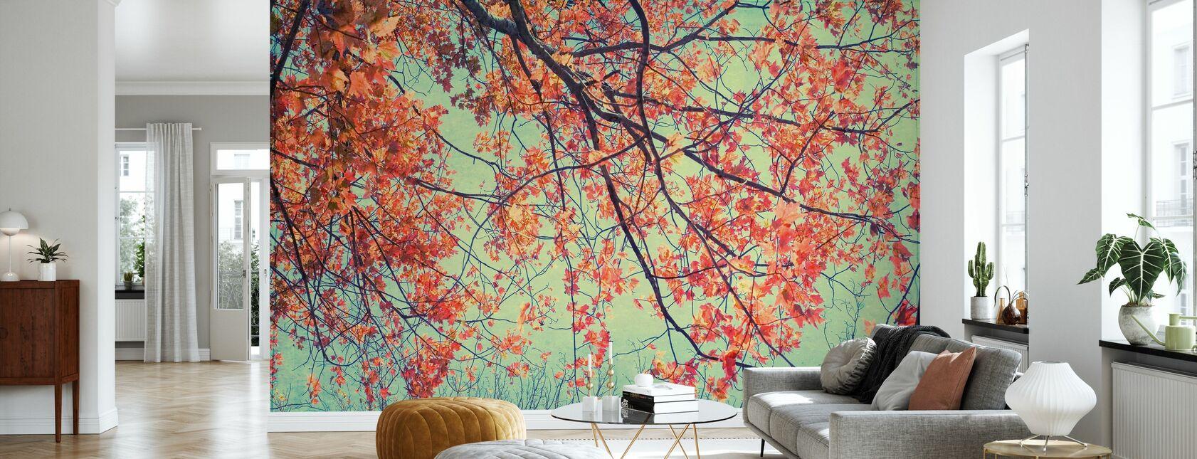 Efterår Tapestry - Tapet - Stue