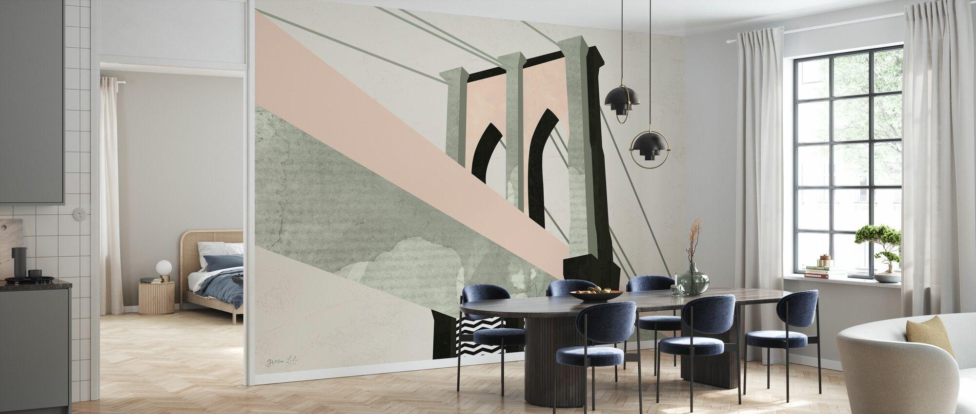 Graphic New York - Wallpaper - Kitchen