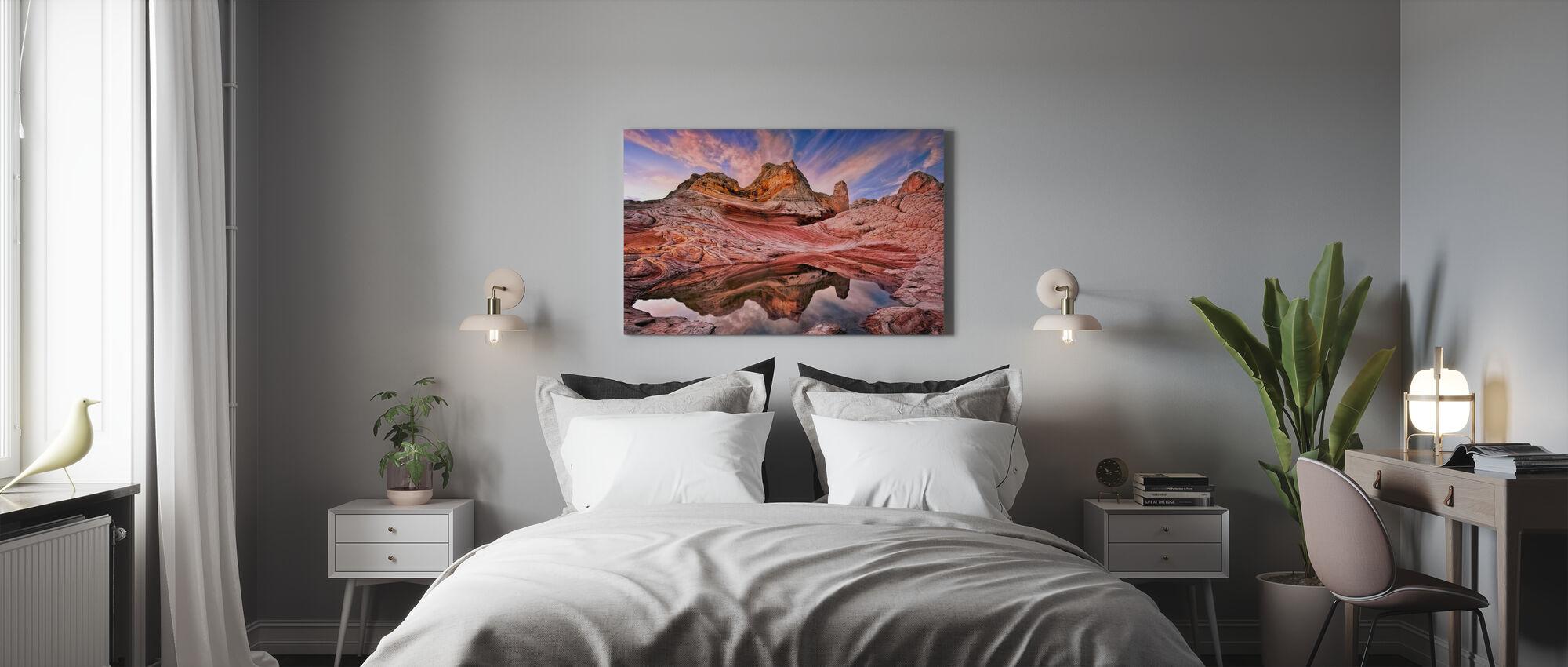 Arizona Reflection - Canvas print - Bedroom