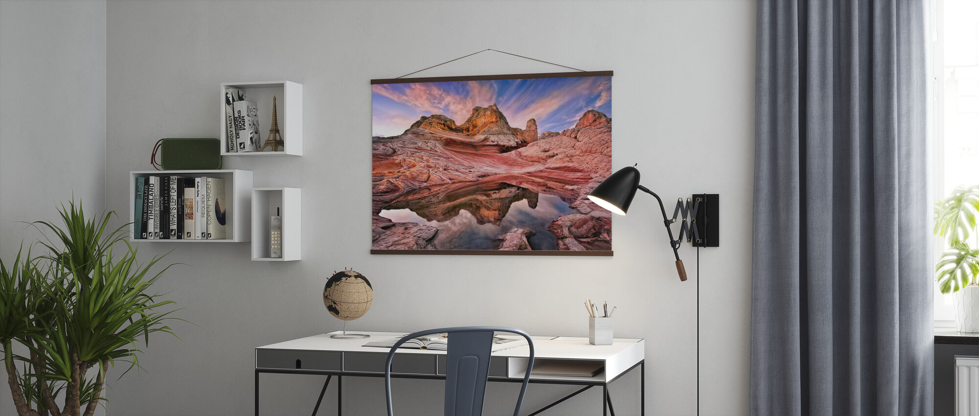 Arizona Reflektion - Poster - Kontor