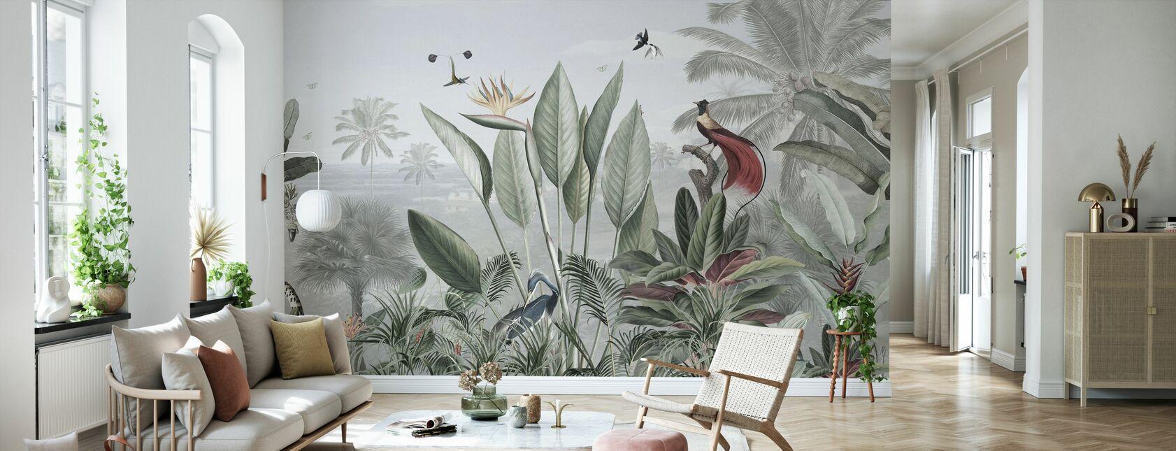 Bellezza Botanica - Panorama - Carta da parati - Salotto