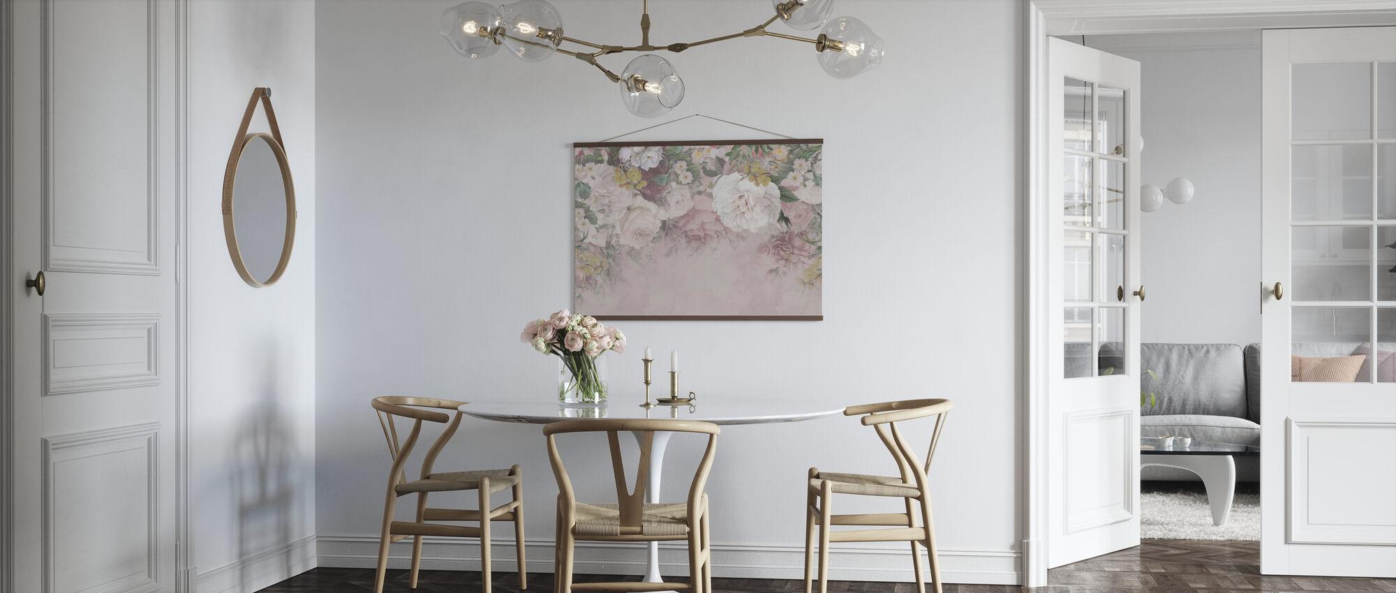 Gentle Flowers - Poster - Kitchen