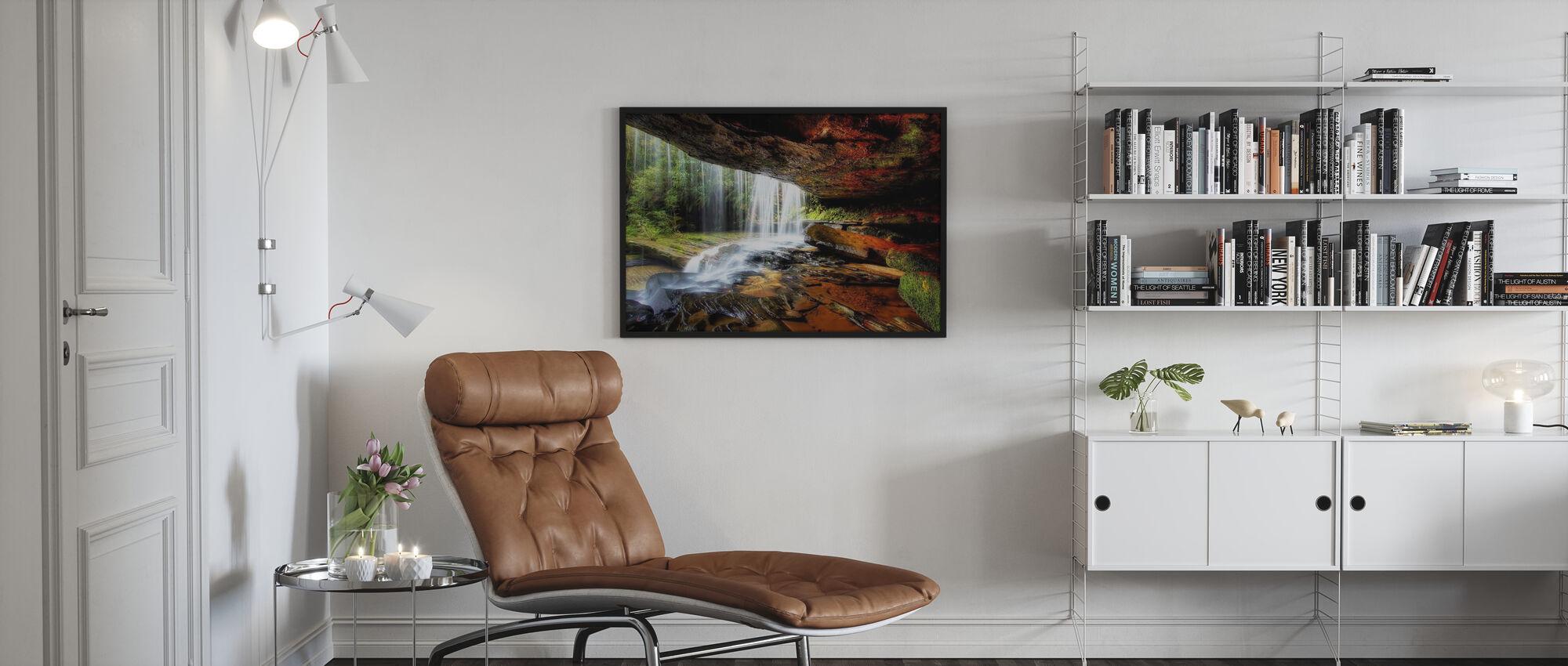 Under the Ledge - Poster - Living Room