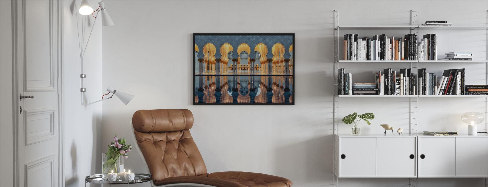 Grand Mosque Center - Framed print - Living Room