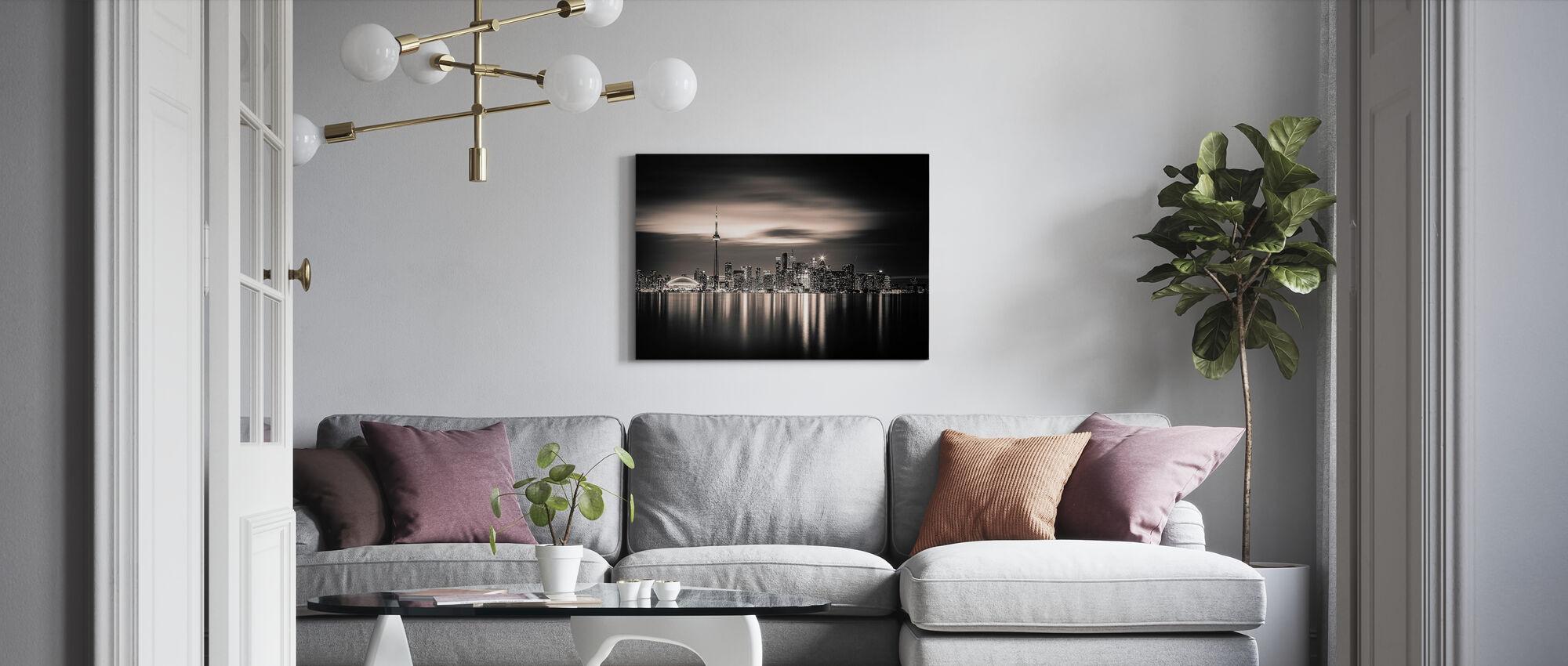 Toronto - Canvas print - Living Room