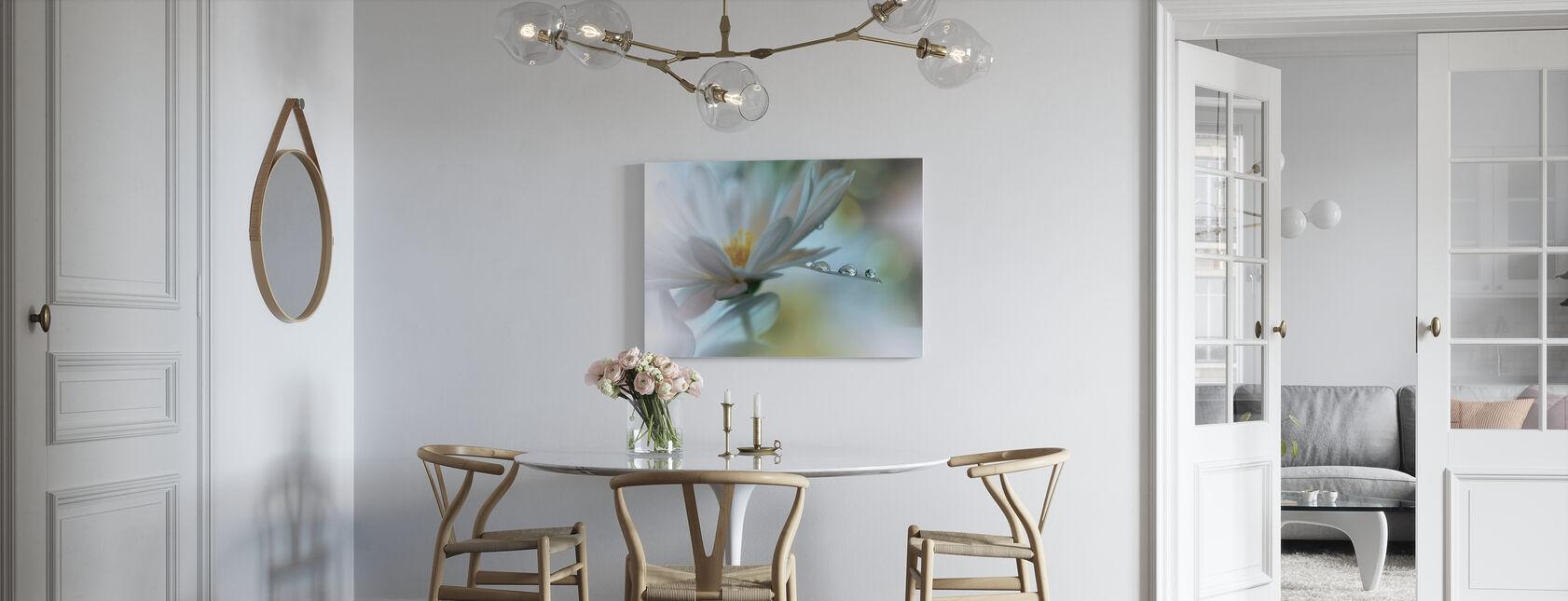 Flower - Canvas print - Kitchen