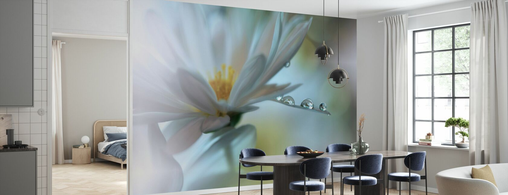 Flower - Wallpaper - Kitchen